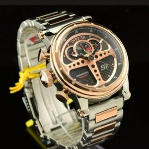 1 LEFT IN STOCK-Invicta Wheel Dashboard Watch